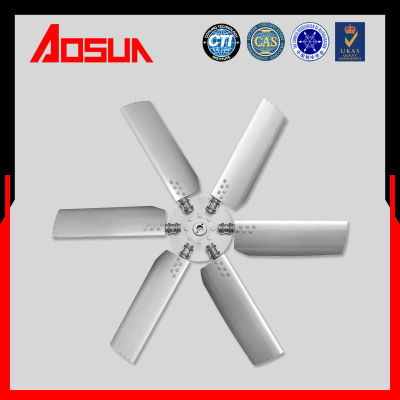 Aluminum Alloy Fan of Cooling Tower,Blade Angle Can Be Adjusted