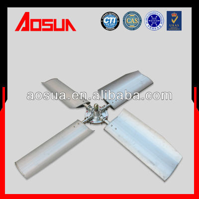 Aluminum alloy fan blade of cooling tower