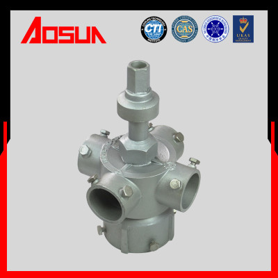 4''Aluminum Alloy Metal Sprinkler Head With 4 Blades For Cooling Tower