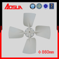 baixo ruído e alta resistência elétrica abs 860mm fan cooler