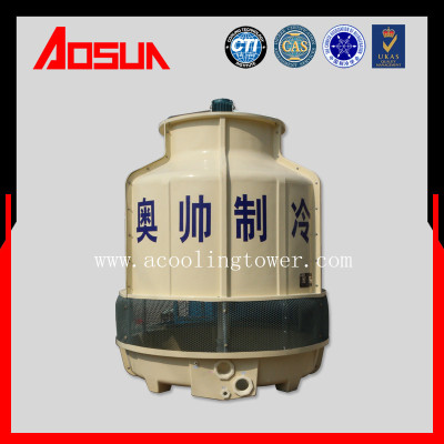 60T/h FRP/Low Noise/High Temp-Resistance Bottle Cooling Tower With Stainless Steel