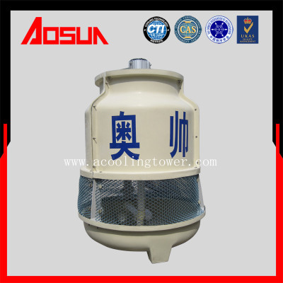 5T/h FRP/Round/Low noise/Small Cooling Tower Water Treatment System