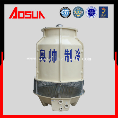 18T round plastic and frp low noise hvac cooling tower
