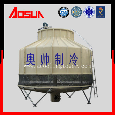 200T/h FRP/Round/Low Noise/Industrial Water Cooling Tower From Ningbo