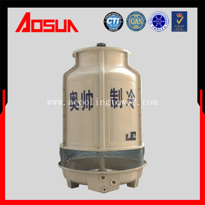 25T FRP circular low noise cooling tower