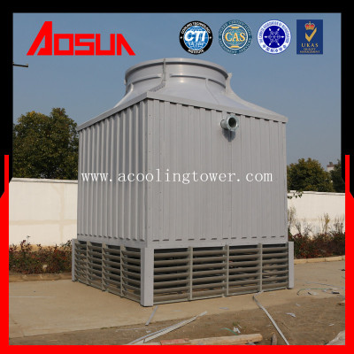 250T No Basin Square Counter Flow Cooling Tower