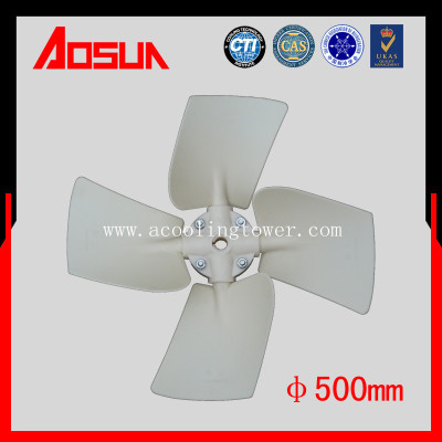 500mm Low Noise And High Strength Electric ABS Fan With 3 Blades For Cooling Tower