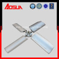 Aluminum alloy fan blade of cooling tower with low noise