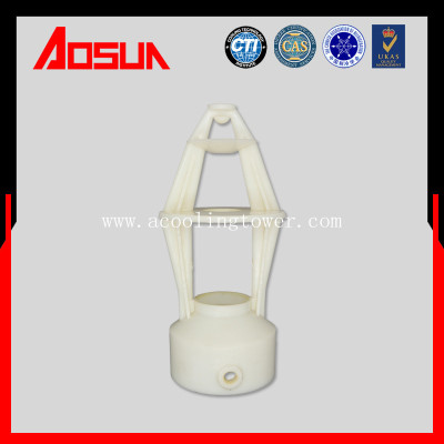 Three Splash Type of Spray Nozzle For Cooling Tower With ABS Material