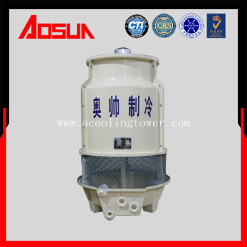 6Ton round plastic and grp cooling tower with heat-resistant