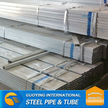MS PRE GALVANIZED SQUARE PIPE