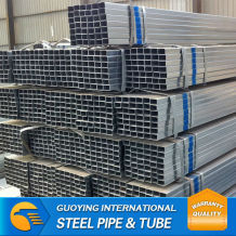pre galvanised square pipe NET WEIGHT BASIC