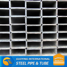 ASTM A500 GRADE B GALVANIZED SQUARE STEEL PIPE FOR GREEN HOUSE