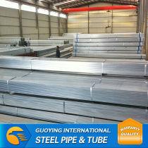 galvanized rectangular tubes in bulk