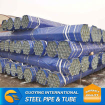 SS400 welded galvanized tube ranging from 1/2-8''