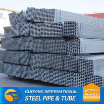 galvanized square pipe for Construction Materials