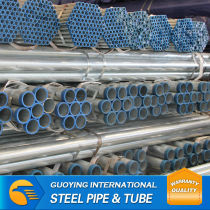 ERW hot dipped sliver galvanized pipe