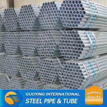 threade end galvanized steel pipe