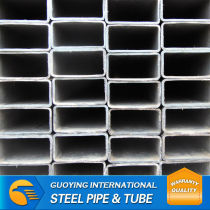 ERW SS330 ASTM HDG furniture grade square pipe