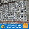 SS400 high quality ERW Gr.B RHS HDG Steel tube from tianjin china