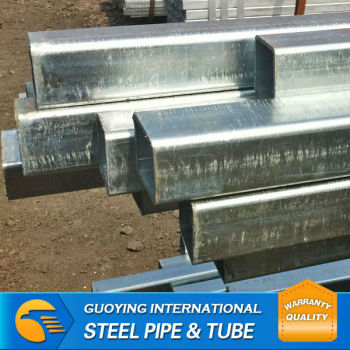 BS EM10219 GB/T 3091-2001 hot dippped galvanized square pipe