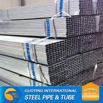 Q195 galvanized welded rectangular pipe