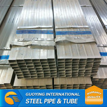 Q195 pre galvanized tube&pipe manufacture by Chinese factory