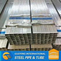 Q195 Round zinc plated pre-galvanized steel tube