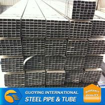 Q195 galvanized square steel hot sale thin wall