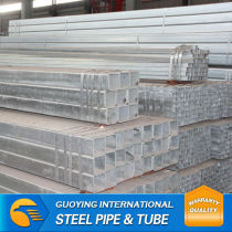 hot dipped galvanized rectangular steel pipe good price Q195