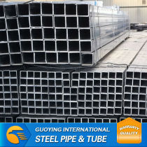 ASTM a500 40*40mm SHS competitive prices of galvanized pipe