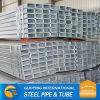 ERW SS400 BS1387 RHS hot dip gi pipe standard length