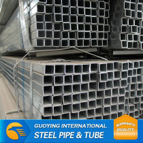 SS330 ERW ASTM square scaffold hot dip galvanized steel prices