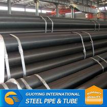 S235JO black steel tube