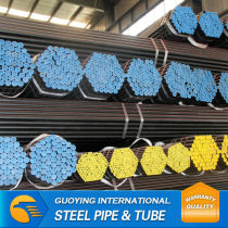supply black round steel pipe