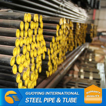 """Competitive price ERW SCH80 8"""" SS400 MS curtain wall pipe"""