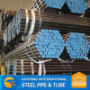 SS400 thick wall ERW mild carbon steel pipe manufacturer