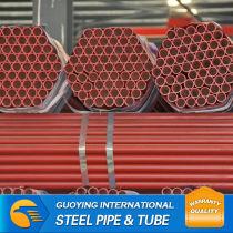 """BS1387 ERW SCH80 6"""" mild carbon steel pipe storage rack"""