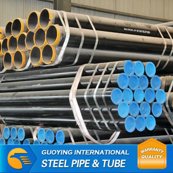 Supply construction ASTM ERW mild carbon a53b steel pipe specifications
