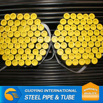 Large diameter ASTM ERW SCH40 Construction pipe ms structure