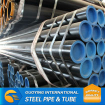 "SS330 ERW ASTM a53 SCH40x8"" MS Steel black pipe prices"