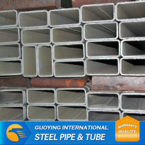 20mm*20mm BS1387 Q195 ms galvanized square pipes