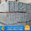 48*48mm SHS Pre galvanized Steel pipe for metal fence posts