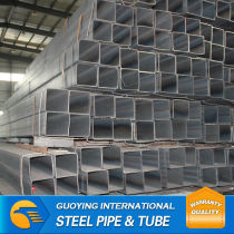 Scaffolding Thick Wall SS330 Pre galvanized rectangular steel pipe