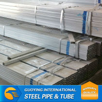 galvanised steel square pipe from tianjin guoying trading