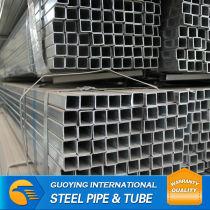 hot pre galvanized square steel pipe welded hot sale