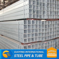 60mm*60mm*2mm ST52 pre galvanized square pipe used metal roofing