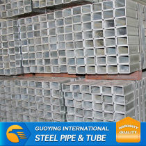 Hot Dipped gi Square steel pipe prices
