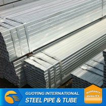 Q235 hdg steel guide tube with zinc coating