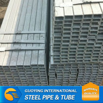 Q235 RHS china steel galvanized pipe from pipe manufacturer